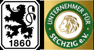 Logo TSV 1860 München & Unternehmer für Sechzig